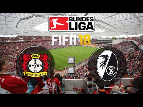 FIFA 18 Bundesliga Bayer 04 Leverkusen : Sport-Club Freiburg | Gameplay Deutsch Livestream