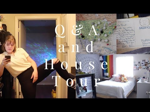 q&a chat and a house tour