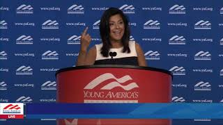Rachel Campos-Duffy LIVE from YAF's 41st NCSC