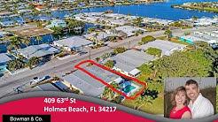 409 63rd St Holmes Beach, FL   Anna Maria Island Homes for Sale   MLS# A4176973