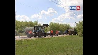 Фото В Ельце продолжается ямочный ремонт автомобильных дорог