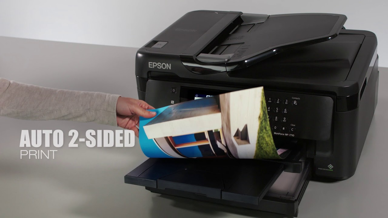 The Epson WorkForce WF-7710 Wide-format All-in-One Printer delivers  wide-format printing to your off