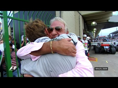 Jenson Button Clinches World Title | 2009 Brazilian Grand Prix