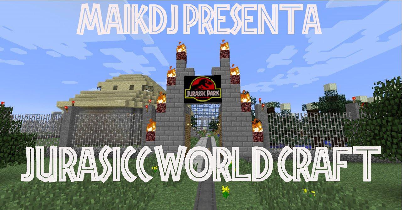 Minecraft jurassic world craft minecraft desenterrando for Puerta jurassic world