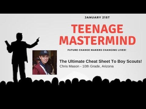Chris Mason | The Ultimate Cheat Sheet To Boy Scouts!