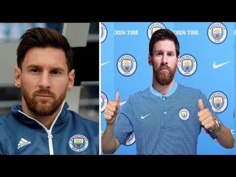 Lionel Messi no Manchester City! Transferência Confirmada?
