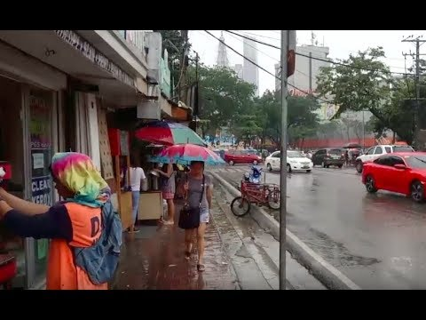 Philippines LIVE - Rainy Day Street Walk Cebu City Philippines Live Stream