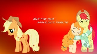 Applejack Sad