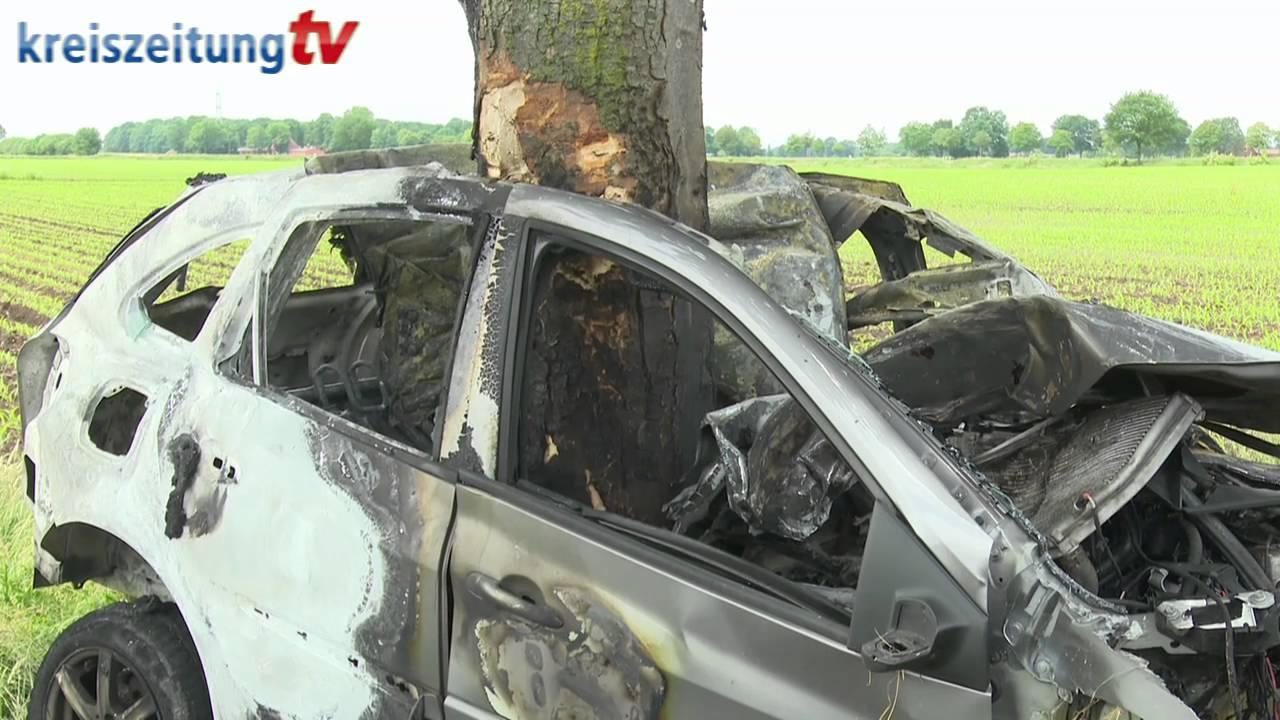 Tödlicher Verkehrsunfall in Lemförde-Brockum - YouTube