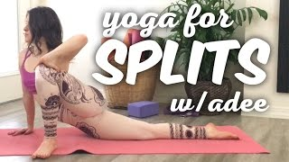 Splits Flexibility Training [Flow With Adee] DAY 2