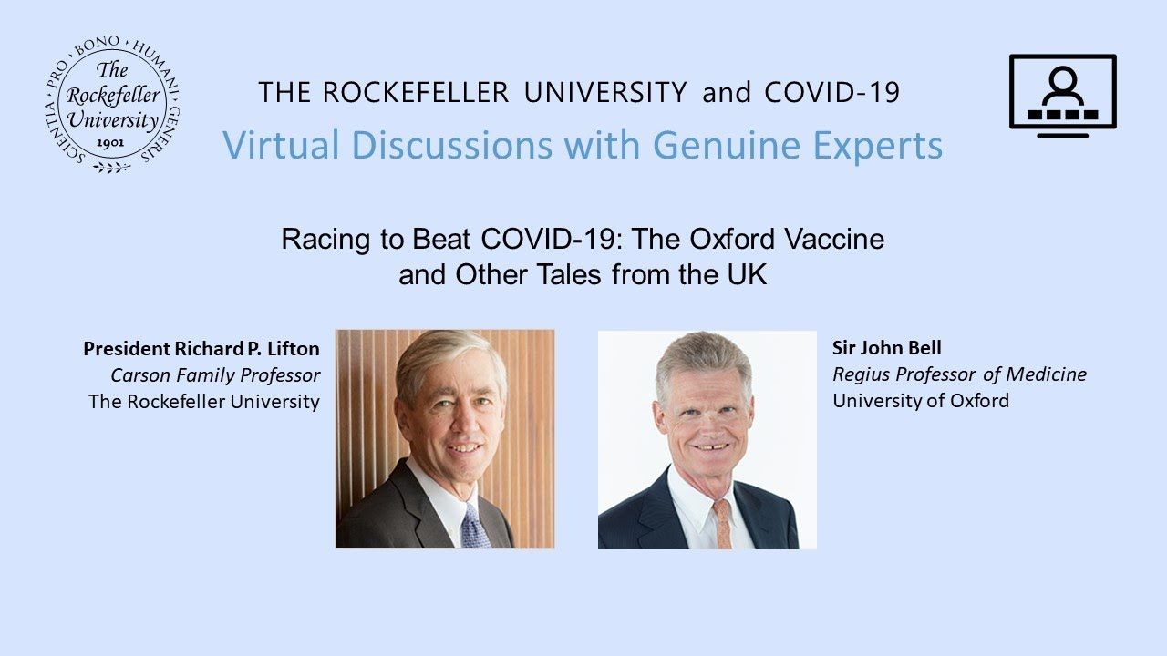 Racing to Beat COVID-19: The Oxford Vaccine and Other Tales from the UK