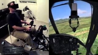 DCS Huey with Oculus Rift / Max Flight Stick / Razer Hydra / VorpX Beta