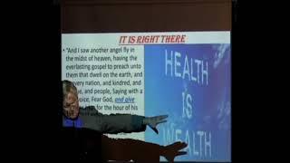 The Right Arm pt 1: Health-Pastor Bill Hughes
