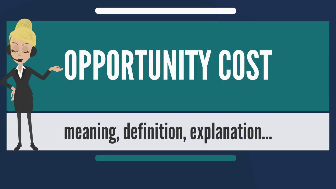 understanding opportunity cost So, why is it important to understand opportunity cost as a designer because  everything you do in design has a cost want to use a hamburger.
