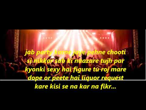 Choti si nikkar lyrics  (Ramji Gulati ft. Shadow )