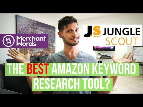 The BEST Keyword Research Tool For Amazon!? Jungle Scout Keyword Scout VS Merchant Words (2018)