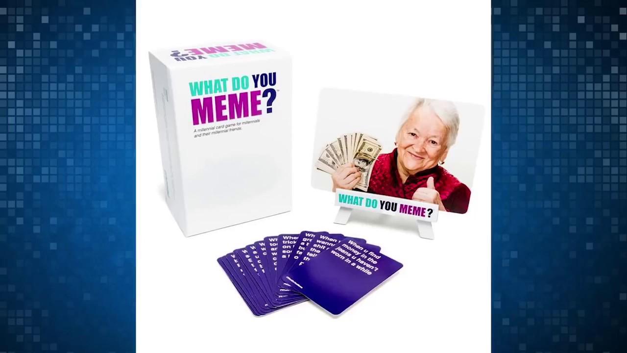 Meme Card Game - What Do You Meme  Card Game