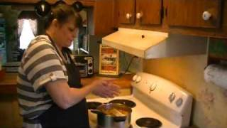 Old Fashioned Peach Cobbler.avi