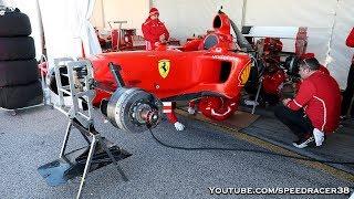 Privately owned Ferrari F1 cars prepared by team of Ferrari engineers