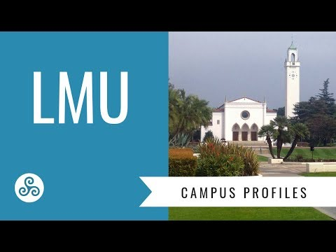 LMU - Loyola Marymount University Los Angeles, campus visit