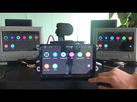 Joying 9 inch 8 Core PX5 VW GPS Navigation Headunit Support Headrest Monitor
