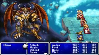 Final Fantasy 1 (PSP)-Chaos