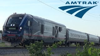 Amtrak Southbound Corridor Trains | #391 'Saluki' and #393 'Illini' | June 5th, 2018