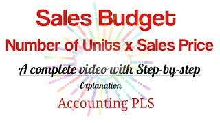 Sales Budget: Definition & Examples