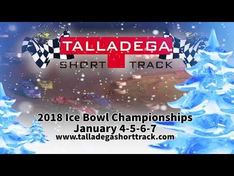 Talladega Short Track - Christmas Greeting 2017