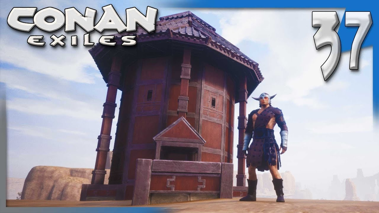 BUILDING WITH THE NEW DLC! | Conan Exiles Multiplayer Gameplay/Let's Play  S4E37