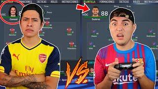 EDSON FDB vs RAMIRIN en el MODO CARRERA 😱 *EPIC REMONTADA* FIFA22