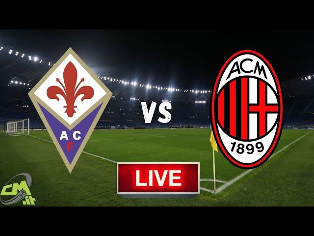 FIORENTINA-MILAN LIVE! Cronaca in DIRETTA Serie A [NO Streaming]