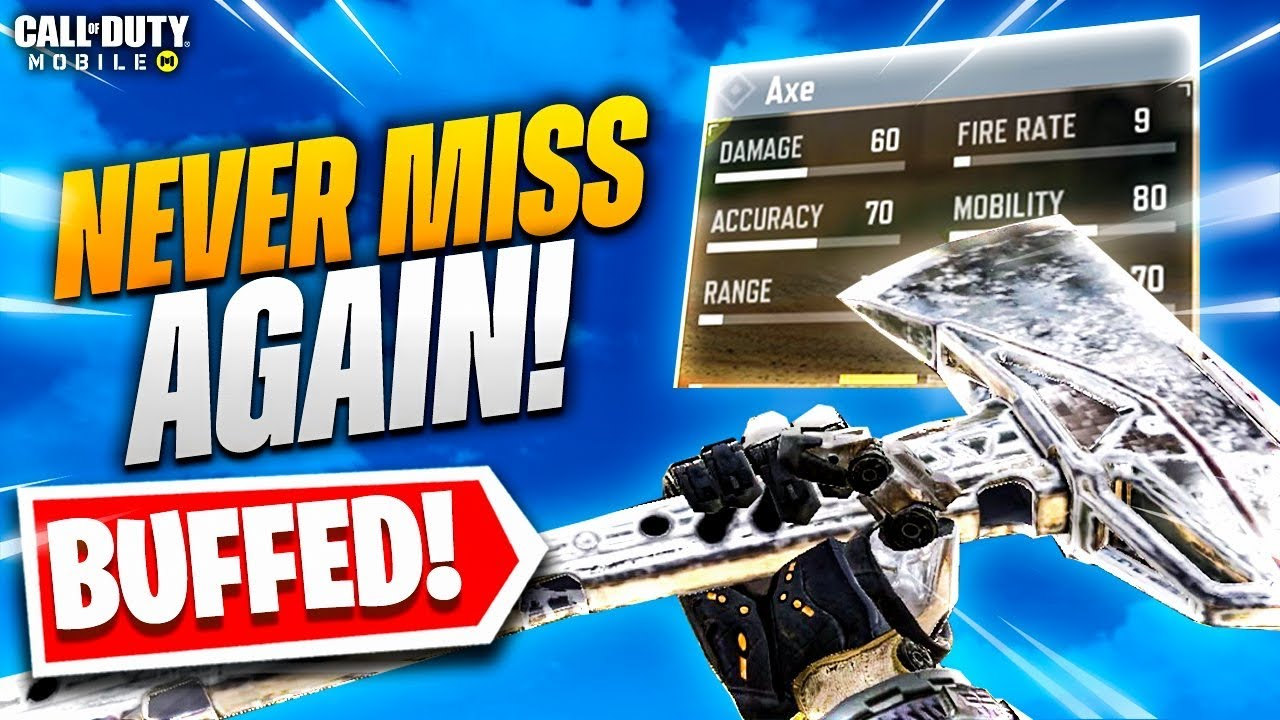 THE PLATINUM AXE IS SERIOUSLY BROKEN and EASY TO USE!! (MOST RANGE!) COD Mobile
