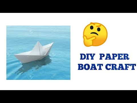 DIY PAPER WALL DECOR || Paper boats craft [Cristmas and Diwali Decoration Ideas]