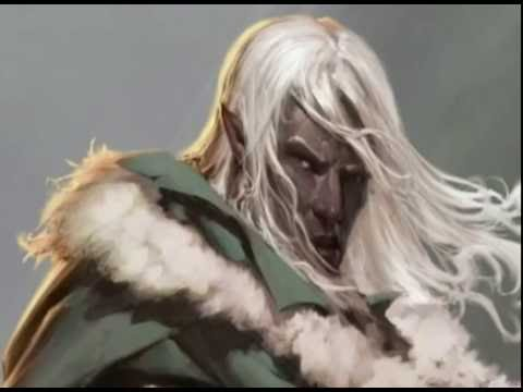 The legend of drizzt do urden tribute