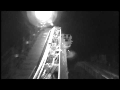 Disneyland's Space Mountain (Night Vision with 1996-2003 music)
