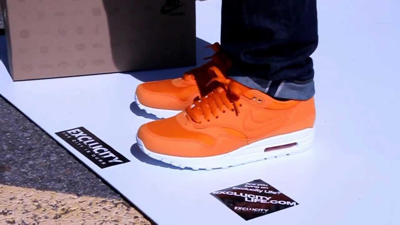 Nike Air Max 1 Mandarin Orange White