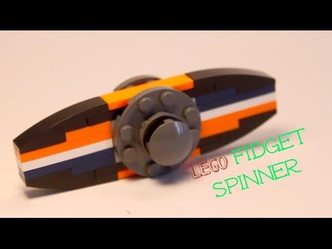 DIY LEGO Fidget Spinner: MOC + Tutorial