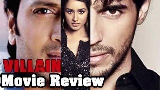 Movie review: ek villain - a striking thriller !