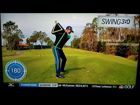 Padraig Harrington ripping drives with The Golf Swing Shirt