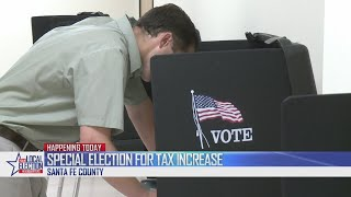 Polls open for gross receipts tax special election in Santa Fe County