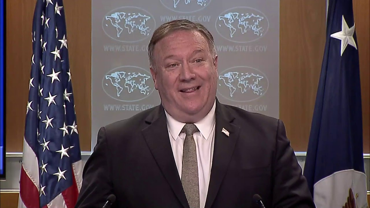 Secretary of State Michael R. Pompeo remarks to the Media, DC, UNITED STATES, 07.01.2020