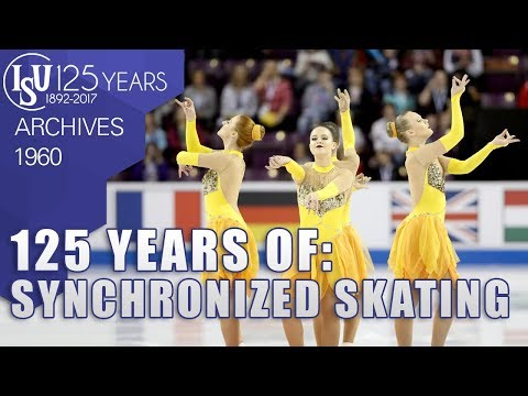 125 Years of: Synchronized Skating - ISU Archives