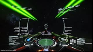 Elite: Dangerous - StarfireIX (Corvette) vs Rinzler o7o7o7 (Corvette)