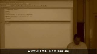 Anwendung von HTML 5 - HTML-Seite strukturieren über die neuen HTML-TAGs