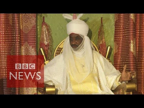 Nigeria's Kano emir Muhammad Sanusi II on battling insurgency - BBC News