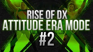 WWE 13 - Attitude Era Mode - PART 2!!! (Rise of DX Story)