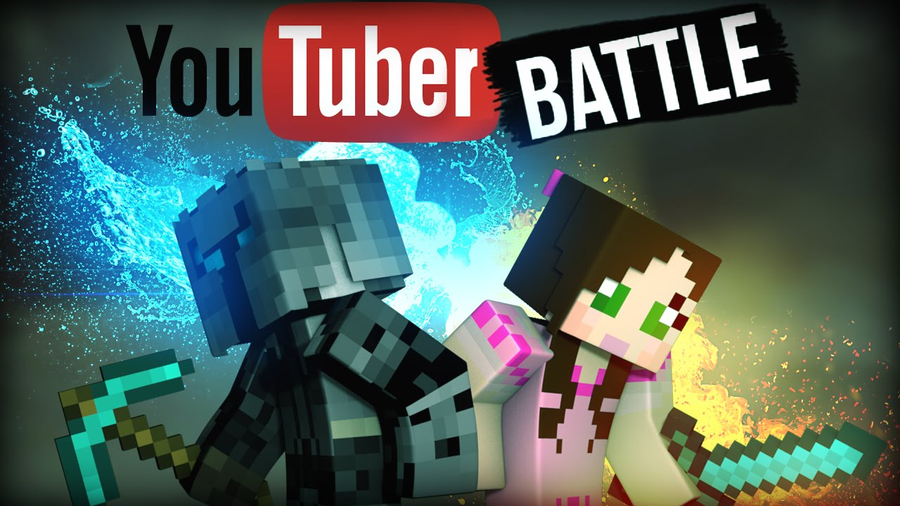 POPULARMMOS VS GAMINGWITHJEN | YOUTUBER BATTLE | Edible ...