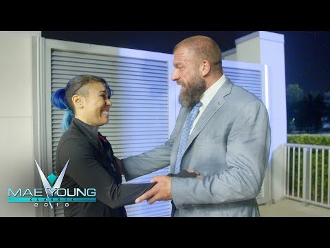 Triple H Tells Mia Yim That She's Earned An NXT Contract: WWE Exclusive, Oct. 17, 2018