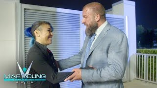Triple H tells Mia Yim that she